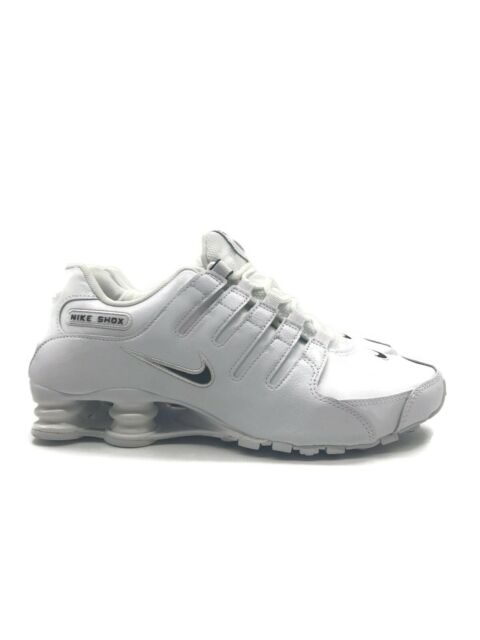 New Men's Nike Shox NZ EU White Black 501524 106