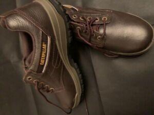 Chaussures Homme CATERPILLAR Cuir Marron - Taille UK 91/2 - EU 43.5 - US 101/2