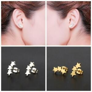 Punk-Minimalist-Tiny-Three-Star-Earrings-Stainless-Steel-Jewelry-Tiny-Ear-Stud