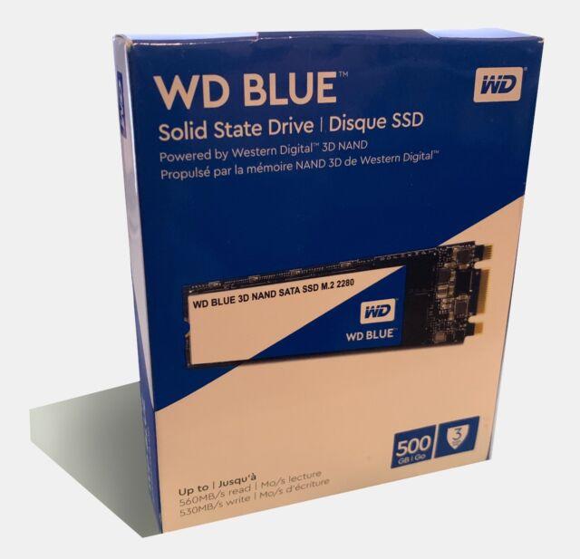 Western Digital Blue 3D NAND 500GB Internal