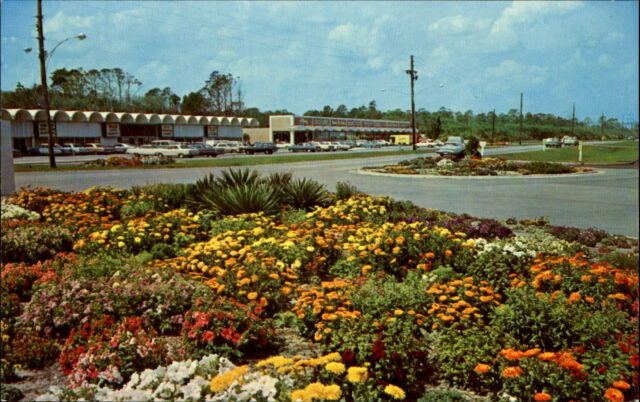 Jekyll Island Shopping Center ~ Georgia GA ~ 1960s cars ~ B&D ? Supermarket