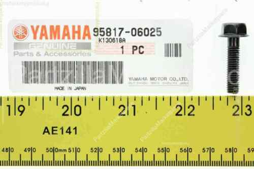 Yamaha 95817-06025-00 BOLT FLANGE