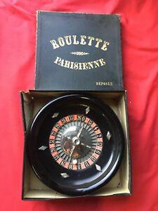 Jeu Ancien Roulette Parisienne Xixeme