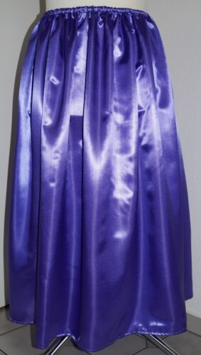 Satin-Rock lang Gr.48//50//52//54//56 satin-skirt long UK 24,26,28,30 US 2X,3X,4X