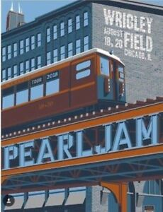 Pearl-Jam-Show-Poster-2018-Tour-Chicago-Berlin-Missoula-Wrigley-Field-Barcelona