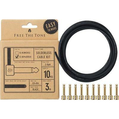 10 foot length! Free The Tone CU-416 Solderless Cable Designed for SL-8 Plugs