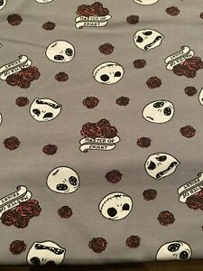 Nightmare-Before-Christmas-Fabric-Master-of-Fright-Fabric-Fat-Quarter-18-X-22