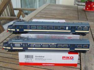 Piko 57574 Automotrices Électriques Hondekop 2 Pièces Benelux Sncb/nmbs Avec Dss