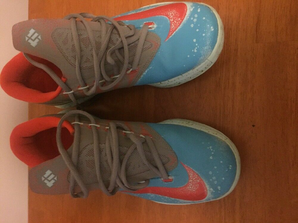 Nike KD VI (6) Sz 8 Maryland Gamma Blue Crab Blue Orange Gold