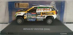 1-43-RENAULT-DACIA-DUSTER-DAKAR-2016-317-SPATARO-COCHE-DE-METAL-ESCALA-DIECAST