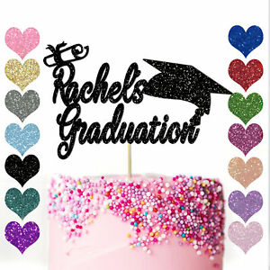 Personalised-Cake-Topper-Party-Congrats-Graduation-Hat-Student-Class-of-2020