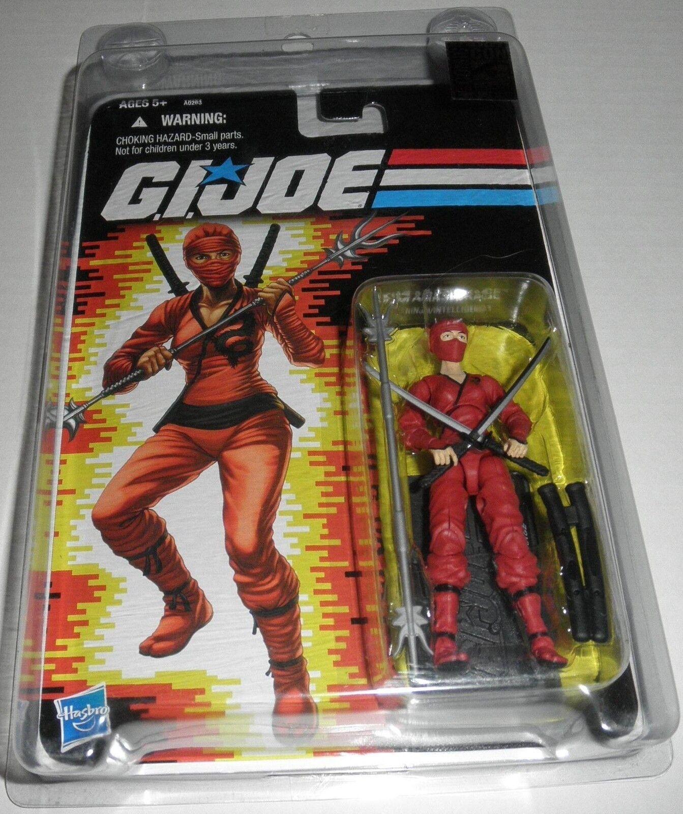 2012 Sdcc G.i. Joe Jinx Rojo Figura Hasbro Agotado Raro Jinx (Kim Arashikage)