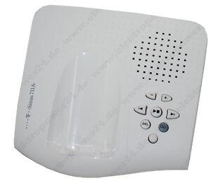 Basis-Basisstation-Ladeschale-T-Sinus-711A-701S-701K-Weiss-NEU-OVP