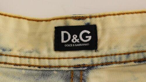 Details about  /DOLCE /& GABBANA D/&G Blue Cotton Washed Jeans Shorts Pants s.W24 US0 RRP $280