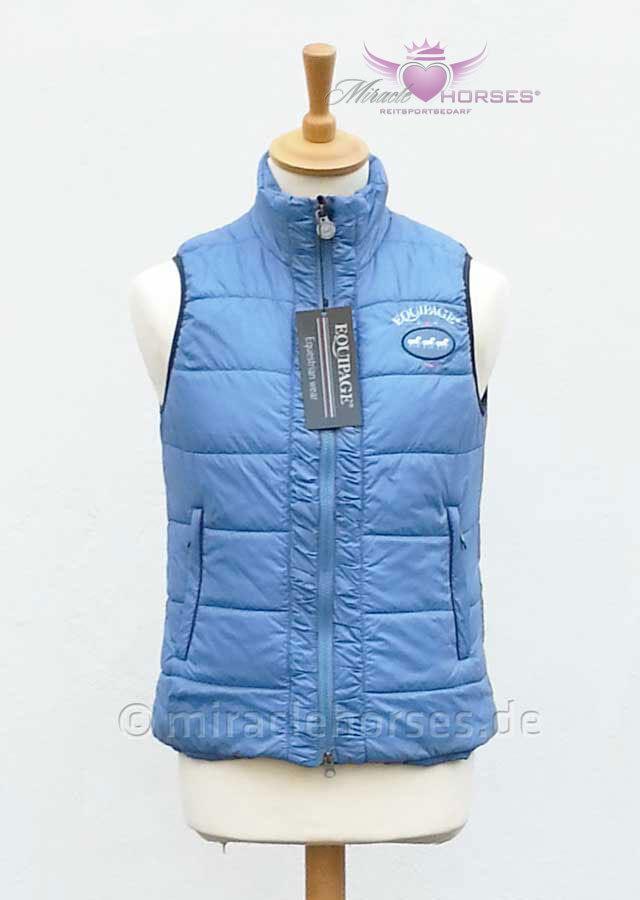 Equipage Jenny Reitweste federleicht zuverlässig warm Steppweste jeansblau jeansblau jeansblau M 7ece9f