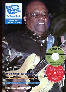 BLUES-amp-RHYTHM-The-Gospel-Truth-UK-Blues-magazine-Issue-no-177