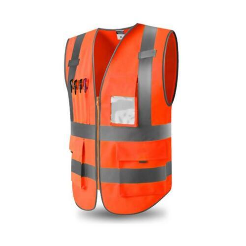 Chalecos Reflectantes De Trabajo Seguridad Para Hombre Mujer Niños Talla Pequeña