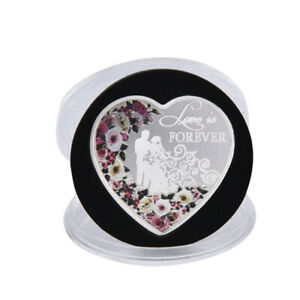 Heart-Red-Rose-Rings-Commemorative-Coin-Wedding-Decoration-Valentine-Gift-Si-AM