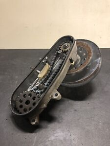Yamaha-Enticer-300-Snowmobile-Chain-Case-Assy-Secondary-Clutch-Gears-M223