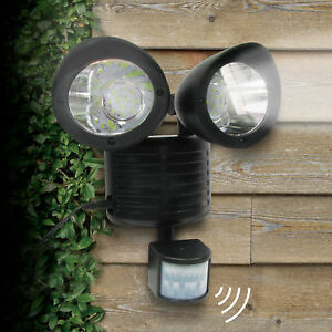 Dual security detector solar spot light motion sensor outdoor 22 led image is loading dual security detector solar spot light motion sensor mozeypictures Image collections