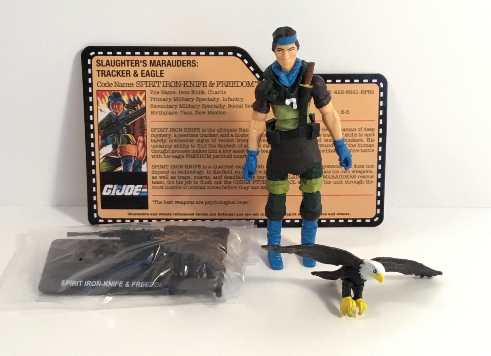 GI Joe Spirit & Freedom loose figure 2018 2018 2018 Joecon Club Slaughter's Marauders b65901