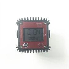 New Fuel Diesel Gasoline Kerosene Oil Oval Gear Digital Flow Meter 12