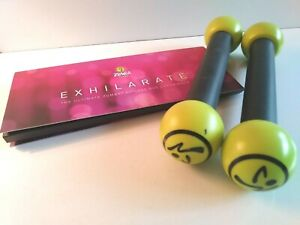 Zumba-Fitness-Exhilarate-7-DVD-Set-with-Toning-Rattle-Sticks