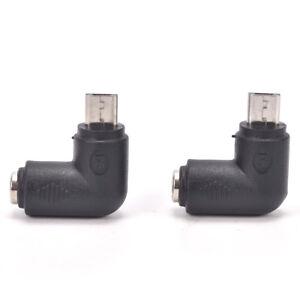 2x-DC-5-5-x-2-1-mm-hembra-a-micro-USB-5-pines-macho-adaptador-de-corrienteSC