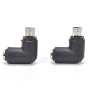 2x DC 5.5 x 2.1 mm hembra a micro USB 5 pines macho adaptador de corriente de SE