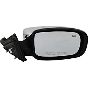 Fits 11-14  200 Convertible Right Passenger Mirror Power Unpainted With Heat
