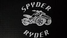 CAN-AM SPYDER  F3 SPYDER RYDER - WINDOW DECAL / STICKER  - 13 colors