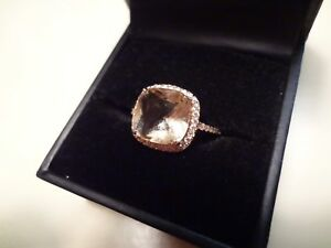 Details about #427 FZN 925 CN STERLING SILVER 925 RING-SIZE-6-BEAUTIFUL  MAIN STONE