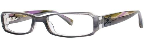 New Authentic VERA WANG V185 RXable Eyeglasses Frames Gray 53mm