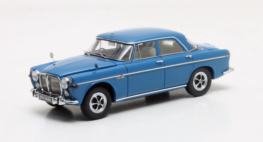 Rover P5b Saloon  Blau  1972 (Matrix 1 43   MX41706-111)