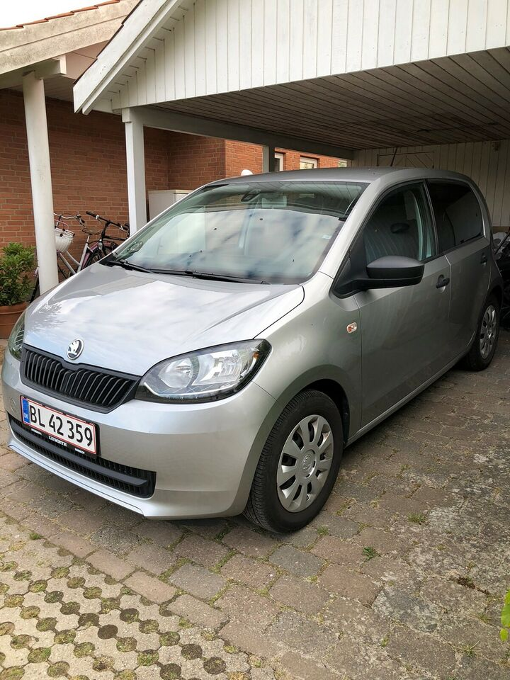 Skoda Citigo, 1,0 60 Active GreenTec, Benzin