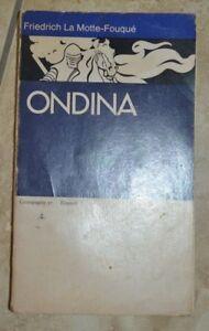 FRIEDRICH-LA-MOTTE-FOUQUE-ONDINA-ED-EINAUDI-ANNO-1975-VC