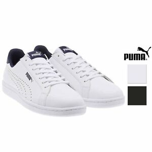 Puma Mens Smash Perforated Leather