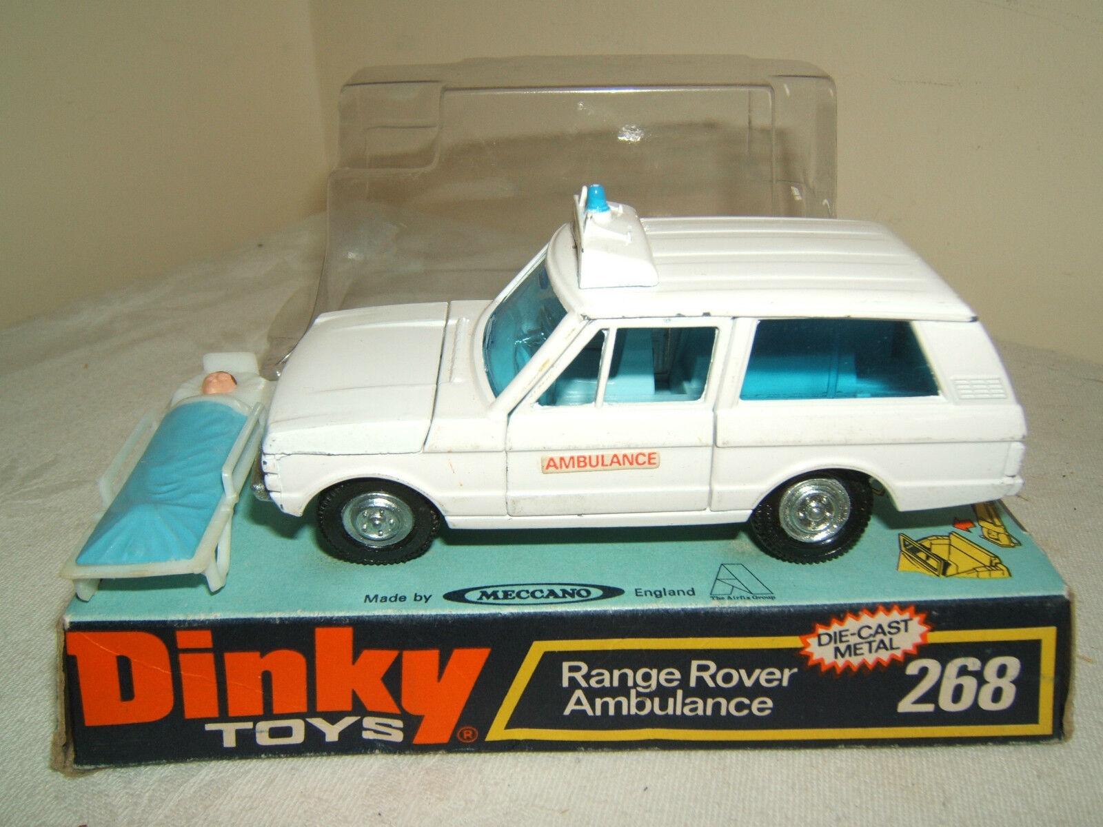 Esperando por ti Dinky Juguetes Modelo Modelo Modelo No.268 Range Rover ambulancia VN MIB  más vendido