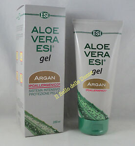 esi aloe vera gel l argan l 200ml ipoallegenico sonnenbrand sonne r tung ebay. Black Bedroom Furniture Sets. Home Design Ideas