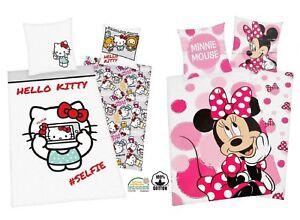 Hello-Kitty-Minnie-Mouse-Literie-Fonctionnelle-80x80cm-135x200cm