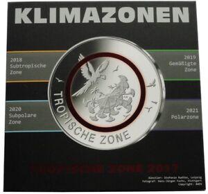 BRD-5-x-5-Euro-Tropische-Zone-2017-ADFGJ-Stempelglanz-im-Blister