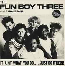 """12"""" MIX THE FUN BOY THREE WITH BANANARAMA IT AINT WHAT YOU DO.. CDS 2570 US 1982"""