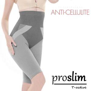 Anti-Cellulite-Bauchweg-Hose-Shorts-Leggings-Proslim-T-Active-mit-Turmalin