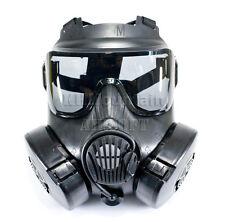 Full Face Protector M50 Dual Anti-Fog Fan Ventilation Mask / Black (KHM Airsoft)