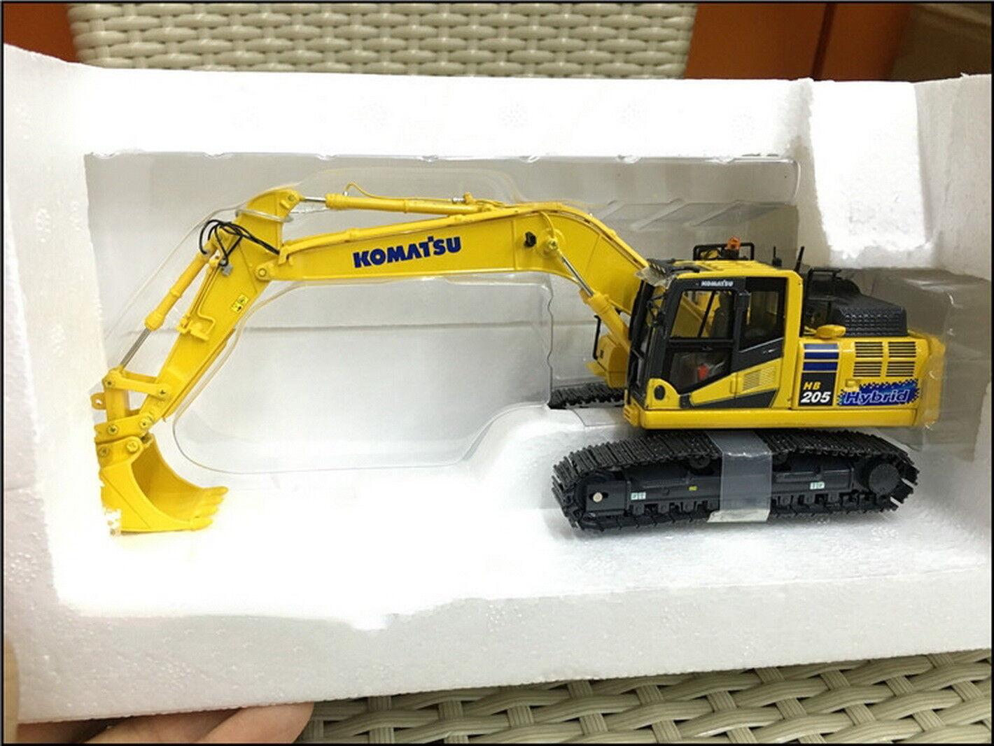 Universal Hobbies 1 50 Komatsu HB205 LC-3 Hybrid Excavator DieCast Model UH8136