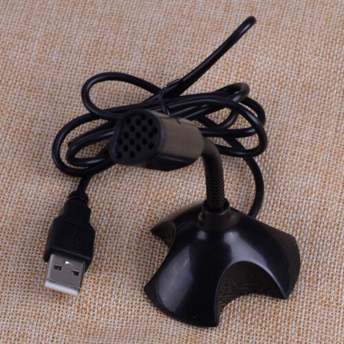 360°Black Mini USB Microphone Mic For Raspberry Pi f// Web Chat,Recording,Singing
