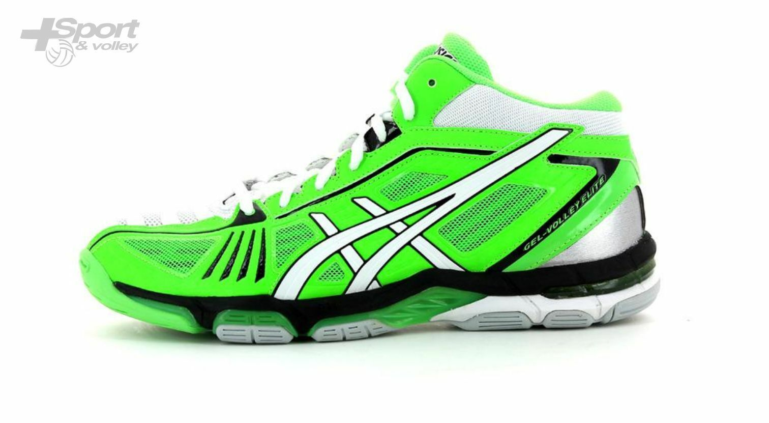 chaussure volley Asics gel volley Elite 2 Mittel- Herren B300N-7001 Ende Serie