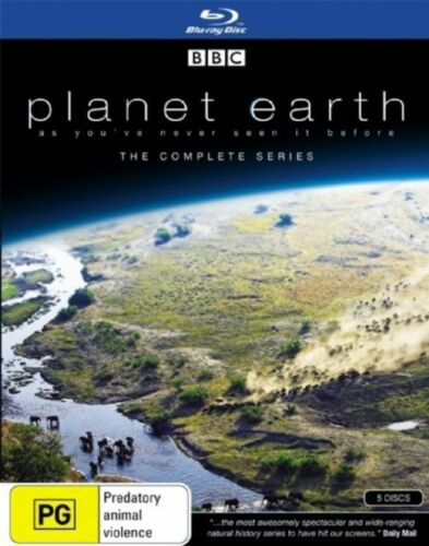 1 of 1 - Planet Earth - The Complete Series (Blu-ray, 5 Disc Set)