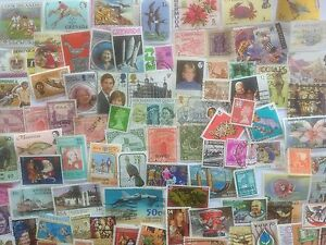 1000 Different British Commonwealth all periods including GB Stamp Collection