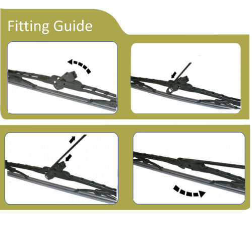 VAUXHALL MOVANO Wiper Blades Front Set fits to Car Reg 1999 TO 2010